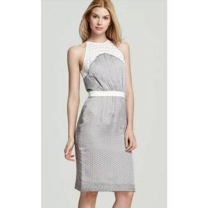 NEW Raoul Caroline Halter Day Dress Silk Lace